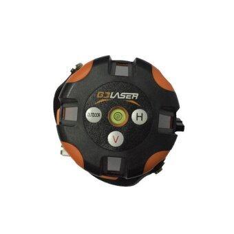Hi-Top เครื่องวัดระดับเลเซอร์ 5 เส้น รุ่น LS-5L สีส้ม (ถ่าน AA)