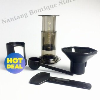 Harga High Quality portable filter coffee maker / China HAO LE YA coffeemachine pot (similar AeroPress) + 350pcs coffee filterpaper(Coffee)