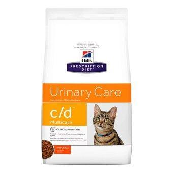 Hill's feline c/d สำหรับแมวที่เป็นโรคนิ่ว 1.5kg