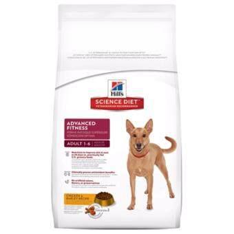 Hill's Science Diet Adult  Advance Fitness ChickenBarley Recipe  อาหารสุนัขโต ทุกสายพันธุ์ ขนาด 15kg