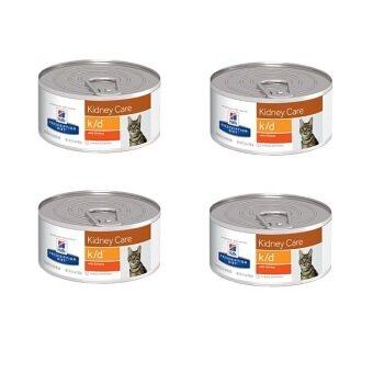 Hill's Science Diet feline k/d อาหารเปียกแมว โรคไต แบบกระป๋อง ( 4units )