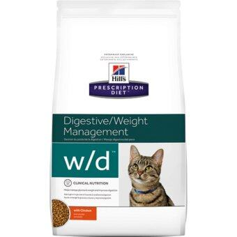 Hill's Science Diet Feline w/d อาหารแมว ที่มีปัญเรื่องท้องผูกหรือเบาหวาน ขนาด 1.5kg