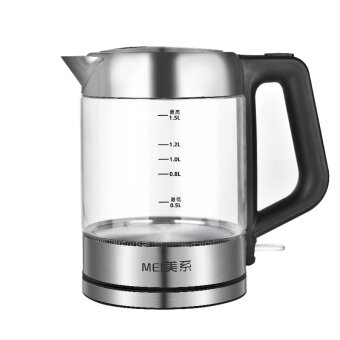 Hot home high-grade glass electric kettle stainless steel kettle - intl