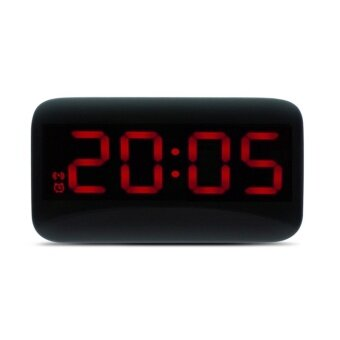 HOT SALE ! JUNJIADA LED Digital Alarm Clock Voice Control Time Display for Home Office - intl