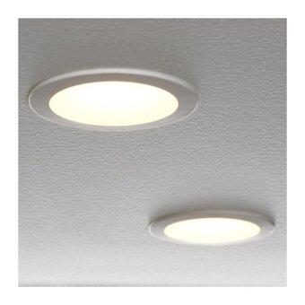 IKEA LAKENE โคมสปอตไลท์ LED แบบฝัง แก้วฝ้า แสงสว่าง 200 ลูเมน