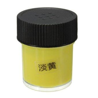 Harga Prop 7 Color Painting Pigment Glow In The Dark Night Varnish Paint 3D Art Dip Yellow