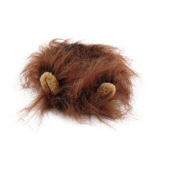Harga OH Fancy Pet Hat Costume Cute Lion Mane Cat Wig Halloween Dress Up With Ears