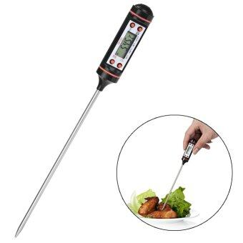 Harga Digital Cooking Food Probe Meat Kitchen BBQ Selectable Sensor Thermometer New - intl