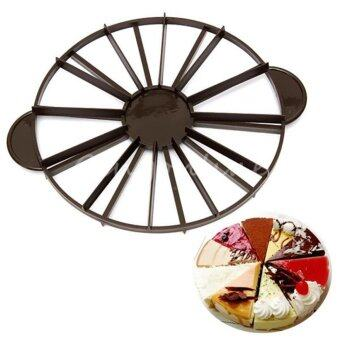 Harga Slice Cake Pie 10/12 Piece Equal Portion Marker Divider Cutter Party Birthday - intl