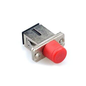 Harga Cruiser 10pcs FC-SC Coupler Flange Adapter Fiber Optic Connector