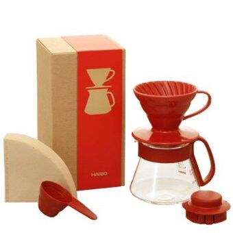 Harga Hario Colour Dripper & Dripper & Pot Red VDS-3012R - Red