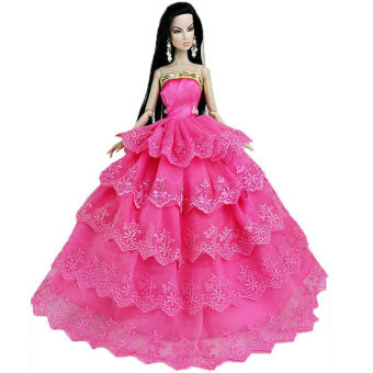 Harga Wearing Rose Red Dresses Barbie Doll