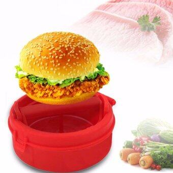 Harga Silicon Stuffed Burger Press Hamburger & Patties Maker Hamburger Meat Press Cookware Kitchen Dining Bar Tool