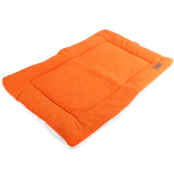 Harga Dog Crate Mat Kennel Cage Pad Bed (orange size S)