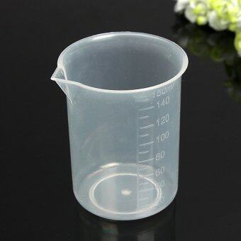 Harga 150Ml Kitchen Laboratory Test Plastic Measuring Beaker Cupcontainer - intl