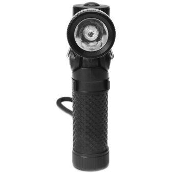 Harga JinGle LED Mini Magnetic Hanging Flashlight Torch (Black)