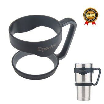 Harga Non-Slip Handle Rubber Cup Grip Bottle Holder for 30 oz Yeti Tumblers Rambler Other 30 oz Tumblers(1 pcs)