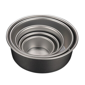 Harga Baking Tin Pan Round Mold For Kitchen Diy 4'' - intl