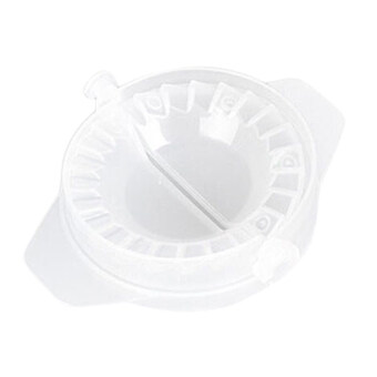 Harga Dumpling Mould Dough Press Pastry Gyoza Maker Samosa Pie Ravioli Mold Tool Clear - intl