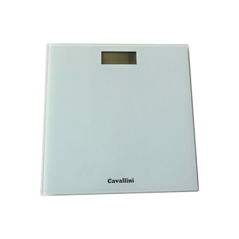 Index Living Mall เครื่องชั่งน้ำหนักดิจิตอล - รุ่น Cavallini กระจกสีขาว - 3