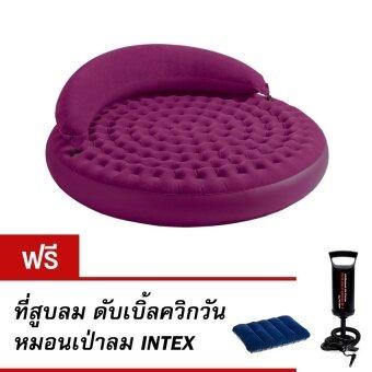 สนใจซื้อ Intex 68881 ที่นอนเป่าลมอเนกประสงค์ Ultra daybed แถมที่สูบลมดับเบิ้ลควิกวัน หมอนเป่าลม Intex