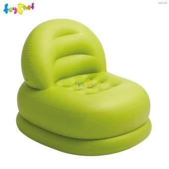 Intex เก้าอี้เป่าลม โหมดแชร์ 84x99x76 ซม. รุ่น 68592 (สีเขียว)