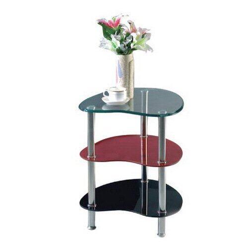 Intrend Design โต๊ะกลาง โต๊ะข้าง รุ่น ฟรีโก้ (Red)