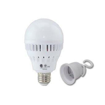 ขาย IWACHI Led Emergency 9 วัตต์ หลอดไฟฉุกเฉิน แอลอีดีติดอัตโนมัติเมื่อไฟดับ - แสงเดย์ไลท์