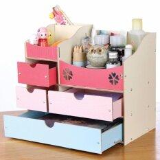 JJ-Shop ชั้นวางเครื่องสำอาง และ อุปกรณ์เบ็ดเตล็ด DIY สีสันสดใสรุ่น Colourful
