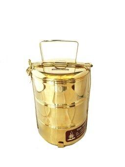 เปรียบเทียบราคา katathong ทองเหลืองไทย ปิ่นโตทองเหลือง เถาเล็ก
