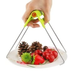 Kitchen Plate Gripper, Foldable Hot Dish Lifter and Retriever, BowlClip Pots Crockery Holder Clamp