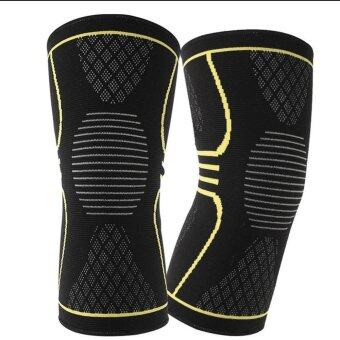 KNEE WRAPS WEIGHT LIFTING BODYBUILDING POWERLIFTING ARTHRITISSUPPORT LEG STRAP 03 L - intl