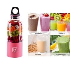... Kobwa Portable Travel Juicer Bottle USB Electric Juicer Cup Household Fruit Juicer Mixer Cup 500mlTHB601 THB