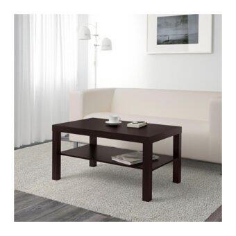 LACK โต๊ะกลางโต๊ะกาแฟ Coffee table 90*55 cm (ดำ)