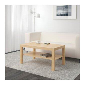 LACK โต๊ะกลางโต๊ะกาแฟ Coffee table 90*55 cm (สีเบิร์ช)