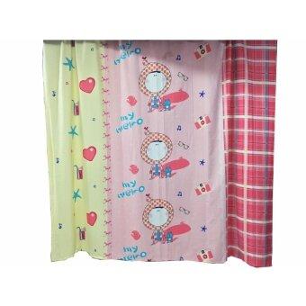 LAENINN ผ้าม่านประตู ผ้าม่านกั้นห้อง ขนาด 250x230 ซม.