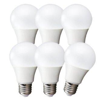 LEDANDLAMP หลอดไฟแอลอีดี LED BULB ขั้ว E27 ขนาด 12w. ( แสงสีขาว Day Light แพ็ค 6 หลอด )