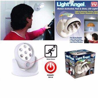Light Angel ไฟ LED ตรวจจับการเคลื่อนไหวแบบไร้สาย (ขนาดใหญ่ไฟ LED7ดวง) - 3