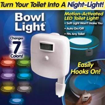 สร้างสีสันให้โถส้วมของคุณไปกับ Light Bowl เพื่อความสะดวกในการเข้าห้องน้ำในเวลากลางคืน เซนเซอร์อัตโนมัติแสงไฟพุ่งออกได้ 8 เฉด สร้างสีสรรให้กับห้องน้ำของคุณ สามารถใช้ตกแต่งกับที่พัก รีสอร์ท ร้านอาหาร เพิ่มความประทับใจให้กับลูกค้า