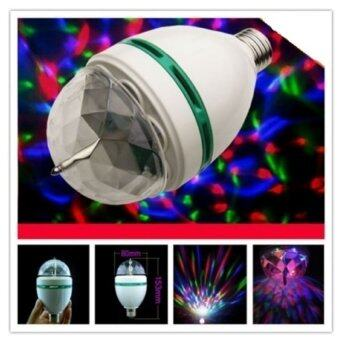 Lotte Lotte Mini Disco Light หลอดไฟดิสโก้ เปลี่ยนสีได้ (White) - 3