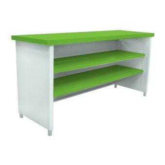 ลดราคา Lucky World โต๊ะเอนกประสงค์ รุ่น KDS-120 (สีเขียว)