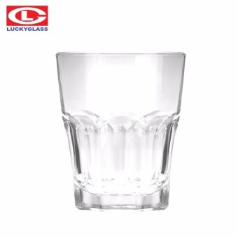 Luckyglass LG101110 แก้วน้้ำ ทรงป้อม 10 ออนซ์ Euro tumbler แพ็ค 6