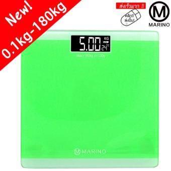 Marino Personal Scale 180kg เครื่องชั่งน้ำหนักส่วนบุคคล 180 กิโลกรัม No.Y030– สีเขียว