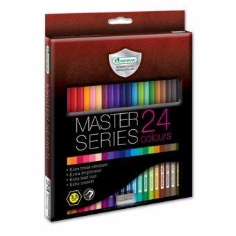 Master Art มาสเตอร์อาร์ต ดินสอสี 24 สี รุ่นมาสเตอร์ซีรี่ย์