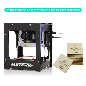 Meterk DK-8-KZ 1000mW High Speed Mini USB Laser Engraver Carver Automatic DIY Print Engraving Carving Machine Off-line Operation with Protective Glasses - intl - 5