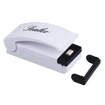 Mini Handy Instant Heat Seal Kitchen Food Storage Plastic Bag Manual Sealer - intl