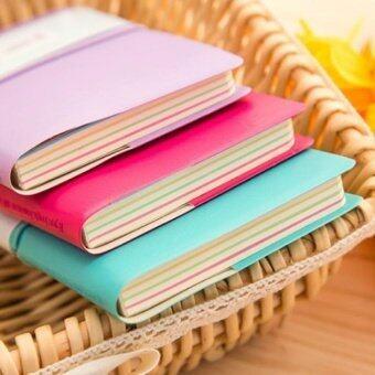 Kulit Tebal Catatan Bantalan Stationery Pocketbook Acak Warna. Source. ' Mini .