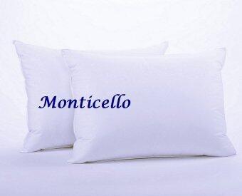 Monticello หมอนหนุนขนห่านเทียมกันไรฝุ่น 2 ใบ