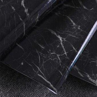 Moonar 1 PC 60X50cm Granite Marble Effect Contact Wallpaper SelfAdhesive Peel Stick Rolling Paper