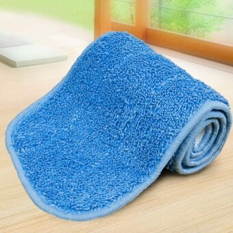 Moonar Microfiber Pads Water Spraying Flat Dust Mop Floor CleaningReplacement - intl